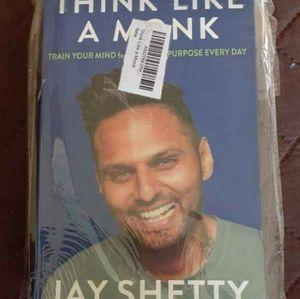 Jay Shetty-Think Like A Monk-NWT